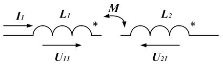 Рисунок: индуктивно связанные катушки