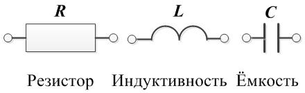 Резистор, индуктивность, ёмкость