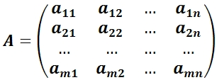 Основная матрица системы